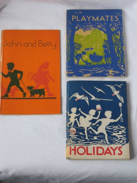 Victorian Education Department Readers - Playmates; Holidays; John and Betty - Victorian Collections