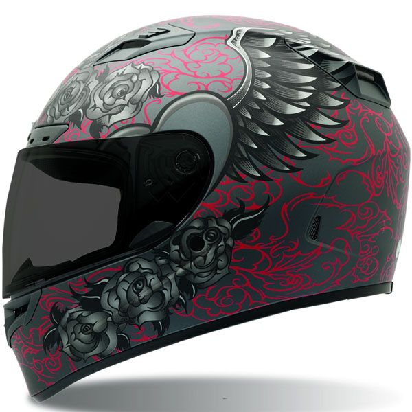Bell Vortex Womans Archangel Matte Motorcycle Helmet on eBay!