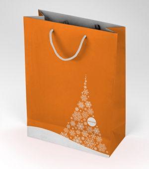 Świąteczna torba na książki. #torba #swieta #prezenty #Mikolajki #BozeNarodzenie #gadzet