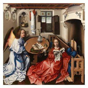 Top religious art choice:  Merode Altarpiece Print - The Met Store - Merode Altarpiece Print - The Met Store