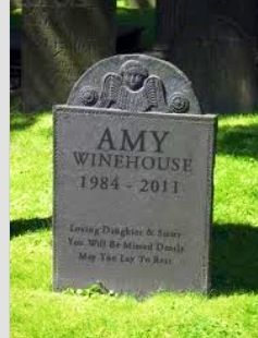 Amy Winehouse grave site