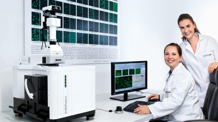 Nowości w systemie EUROPattern. System EUROPattern, służący do w pełni zautomatyzowanej oceny preparatów immunofluorescencji, które są powszechnie wykorzystywane w rutynowej diagnostyce, ciągle się rozwija.