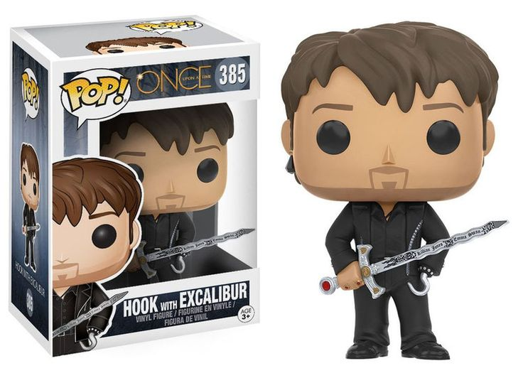 Once Upon a Time - Es war einmal POP! Television Vinyl Figur Hook with Excalibur 9 cm