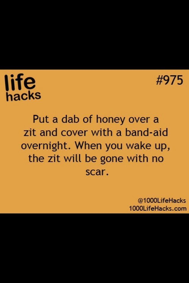 How to Get Rid of Zits Overnight -Get rid of all t…