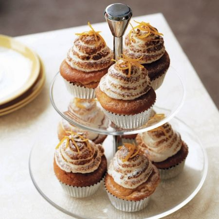 Lemon meringue cupcakes. For the full recipe, click the picture or see www.redonline.co.uk