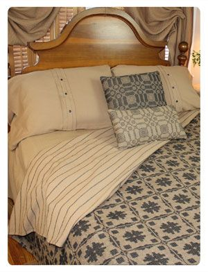 Early American Bedding/Textiles - Primitive Style Rugs~Early American Reproductions