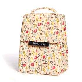 Organic and beautiful- Keep Leaf Organic lunch bag.