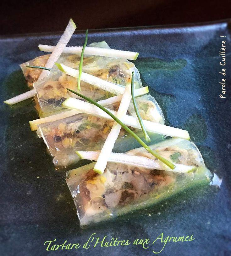 Tartare d'huîtres aux agrumes