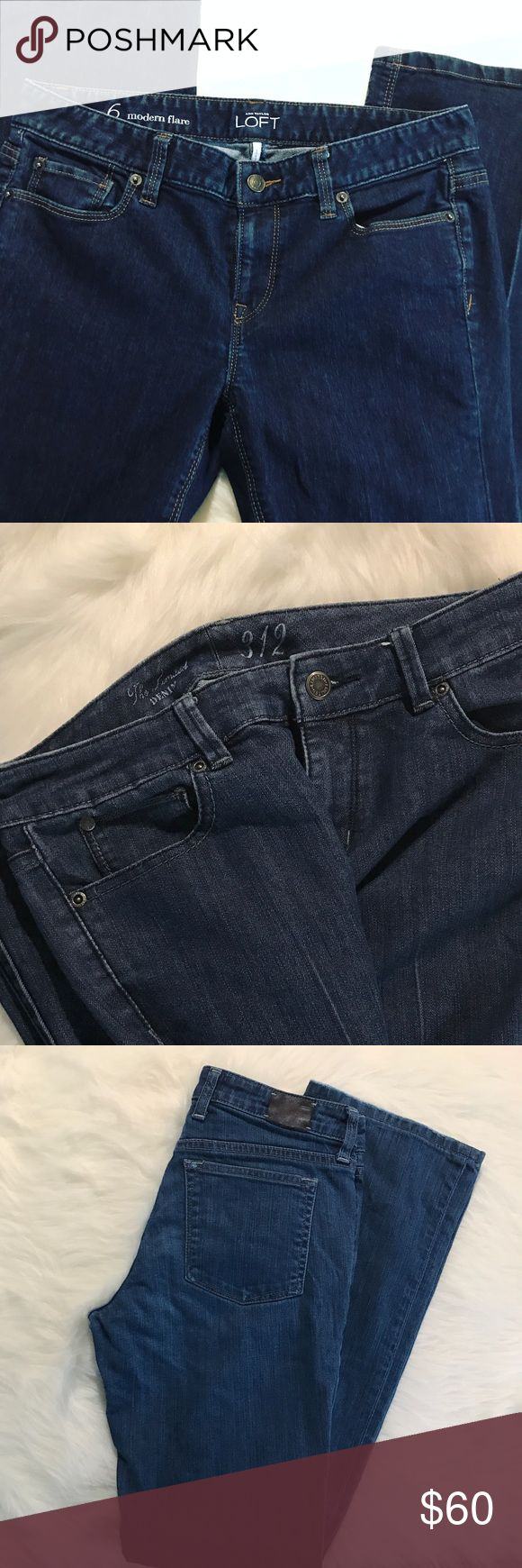 Bundle of 5 Jeans! Banana Republic LOFT Limited... I have 5 size 6 jeans in really good condition that I'd like to offer as a group bundle! In order of the pictures, LOFT, The Limited, Banana Republic, Ann Taylor, Gap. All bootcut with 1 modern flare. $60!! 💙 Not included in closet bundle discount. Banana Republic Jeans