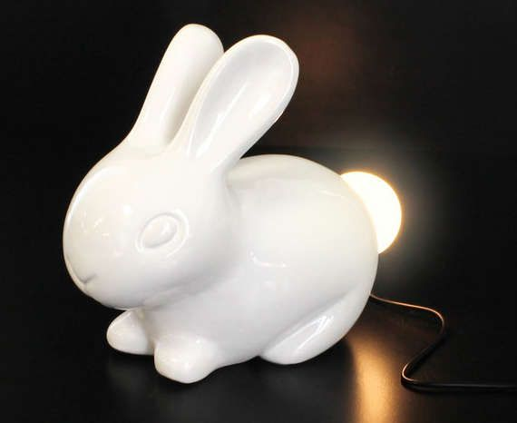 Bunny Light - Spring has officially sprung, so it's exactly the right time to get a bunny light into your life. This adorable light isn't just for ch...