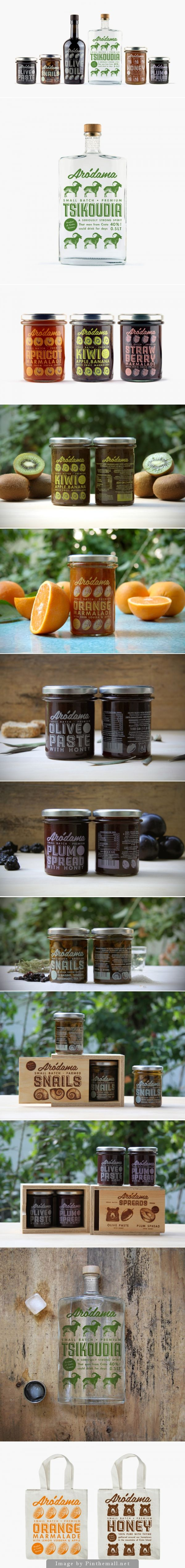 Arodama love these repetitous #packaging designs PD