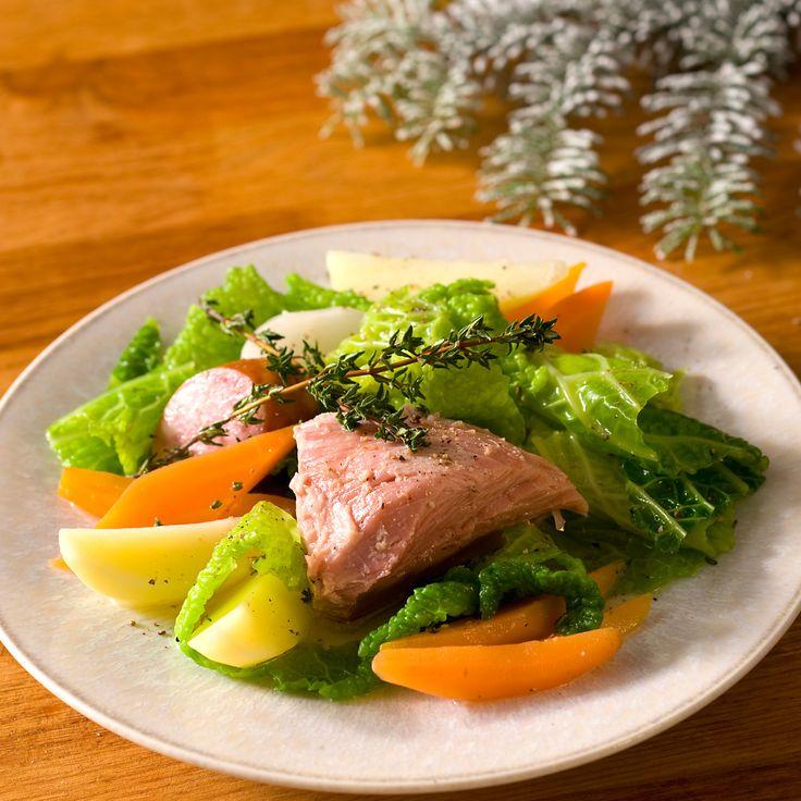 Découvrez la recette potée savoyarde sur cuisineactuelle.fr.