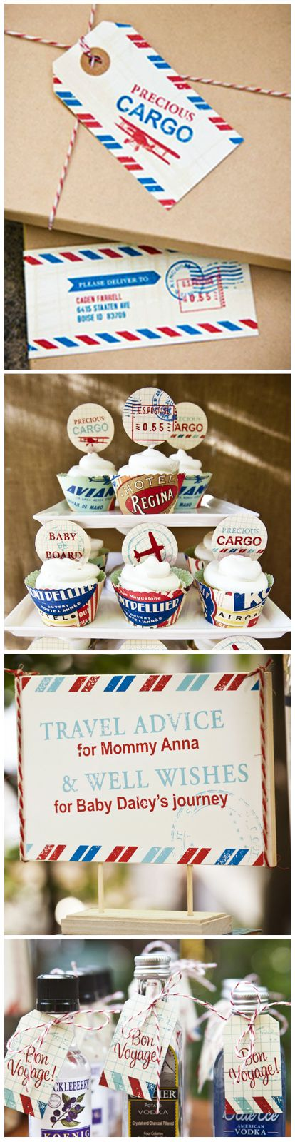 Precious Cargo Baby Shower Printables by I Heart to Party