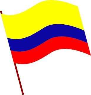 Resultado De Imagen Para Escudo Y Bandera De Colombia Para Colorear