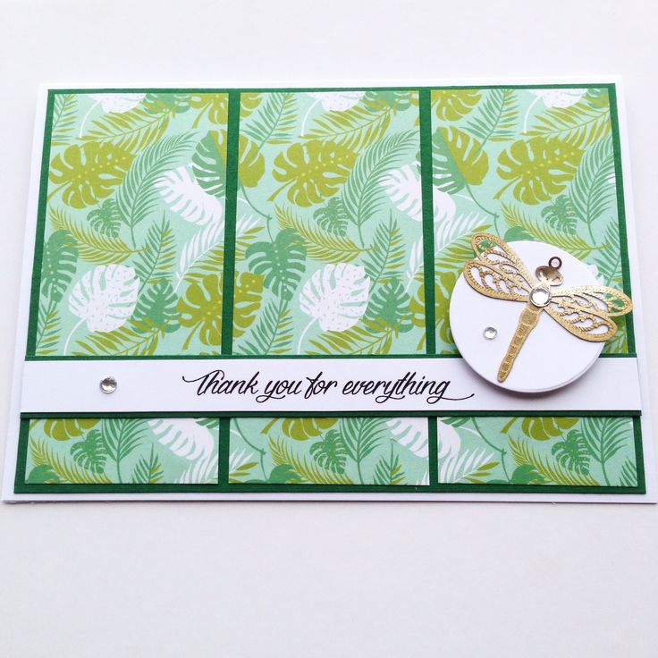 Beautiful Mother's Day card thanking your mum for everything that she does, The dragonfly sets this card off beautifully! Made by Pammypumpkin!