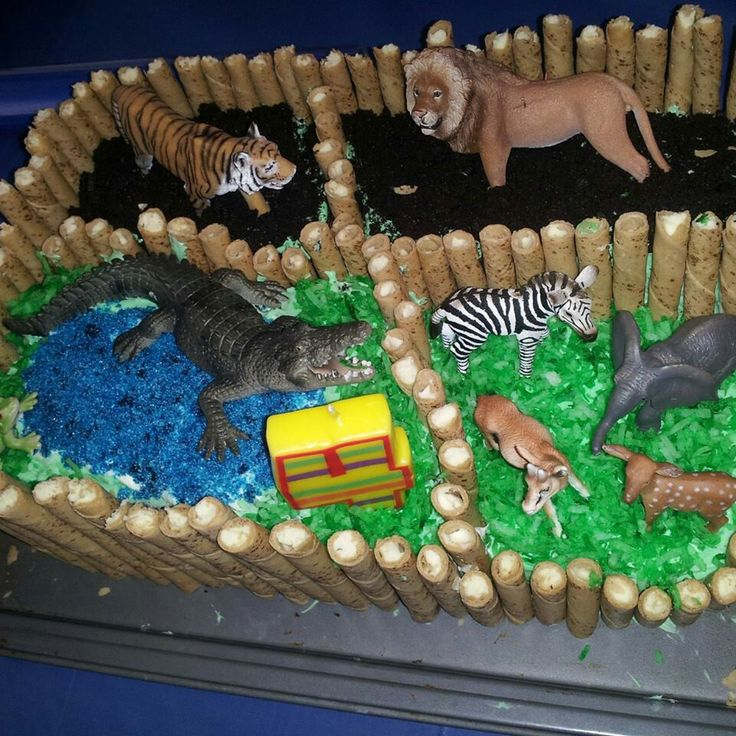 17 Best Ideas About Zoo Birthday Cake On Pinterest