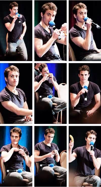 #TVD The Vampire Diaries  Paul Wesley(Stefan)