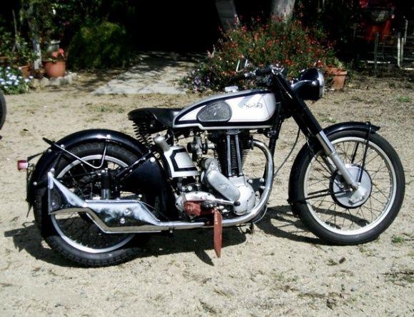 1948 Norton ES2 ex Bill Nelson Big Tank Motorcycle For Sale Flight Tag