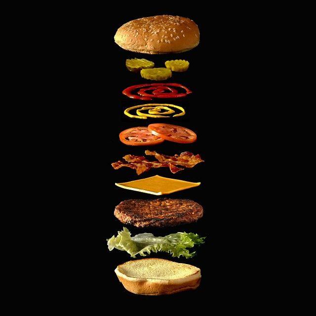 hamburger exploded - Google Search
