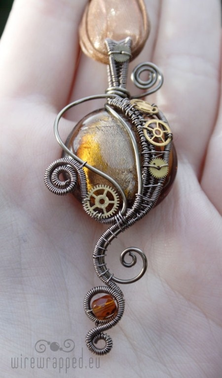 inspired!  Love the Steam Punk Romanic look.