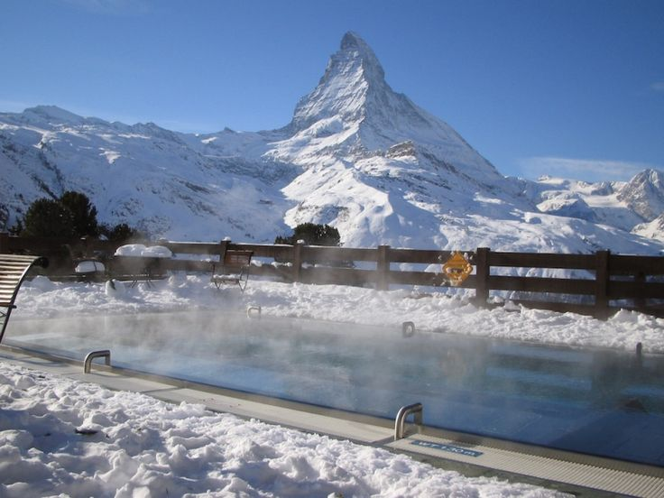 Zermatt at the feet of the most beautiful mountain in the world
