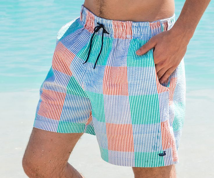 Whether it's fishing off the boat or having a few drinks by the pool, the Dockside Swim Trunk is going to be your favorite pair of shorts for the summer. The...