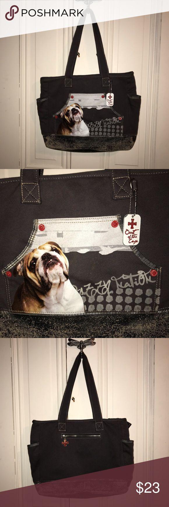 Fuzzy Nation adorable bulldog purse Purses, Fuzzy, Adorable