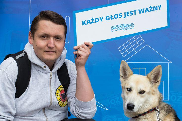 Więcej niż energia - energetyka obywatelska. Podpisz apel na www.wiecejnizenergia.pl  #pies #dog #aktywista #activist