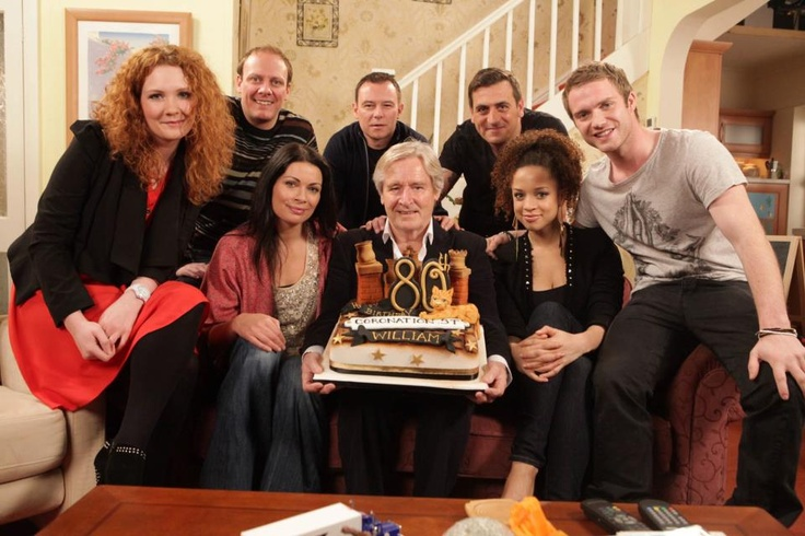 Coronation Street fizz, Shaun, Carla, ken, frank, Peter, tommy and kristy