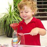 Fun and Funky Sand Art bottles - Australia!