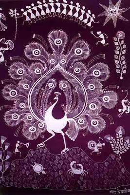 Information Known about Warli Art tradition Design Decor & Disha: Indian Art: Warli Art of Maharashtra