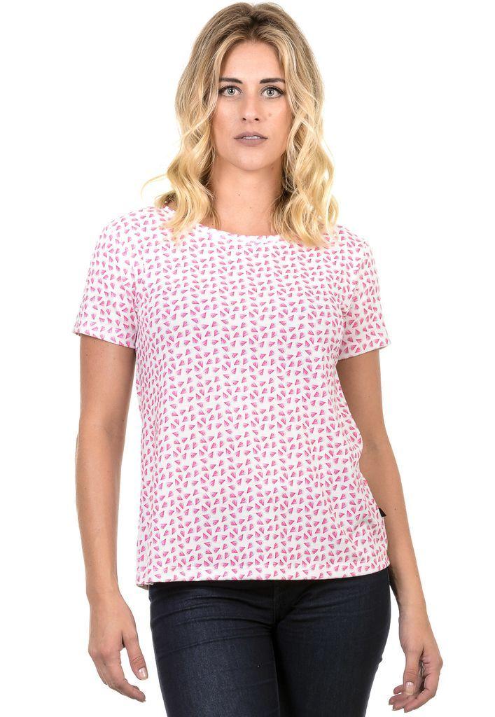 Camiseta Feminina estampa verão
