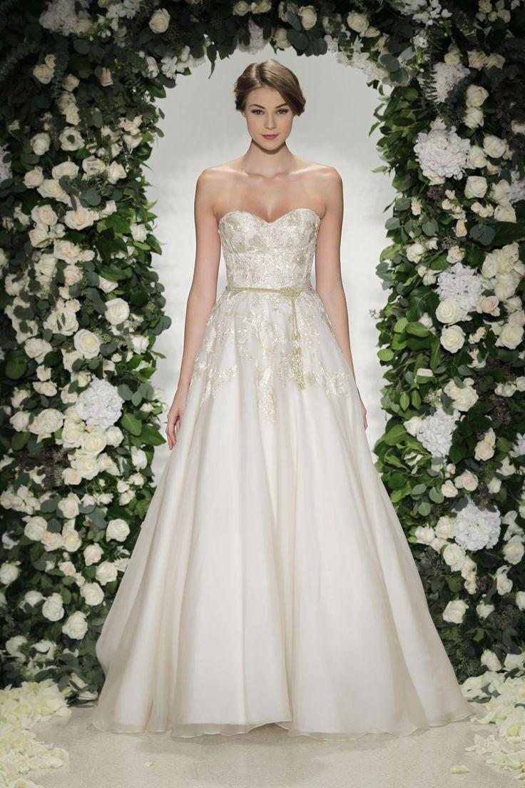 111 besten Bustle Gowns Bilder auf Pinterest | Hochzeitskleider, Del ...