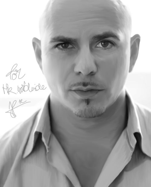 Armando Christian Pérez (born January 15, 1981), better known by his stage name Pitbull, is an American rapper, pop singer-songwriter and record producer. Description from fameimages.com. I searched for this on bing.com/images- BALD HEAD AND ALL, THIS IS ONE SEXY MAN :)