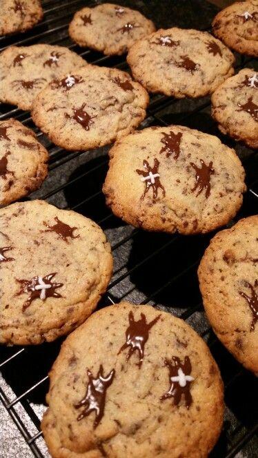 Cookies med edderkopper