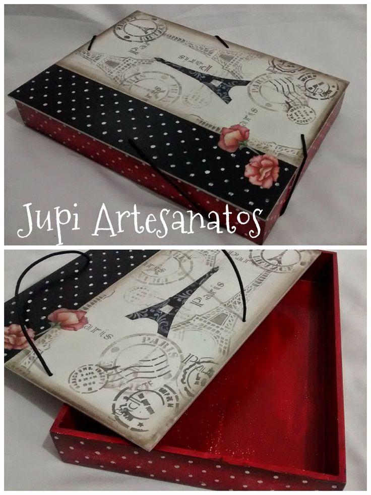 Jupi Artes: Caixa Porta Documentos