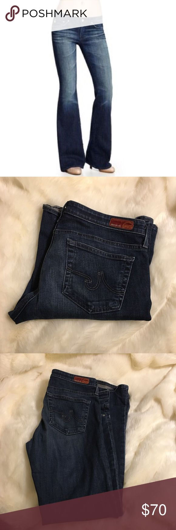 AG Adriano Goldschmied Belle Petite Jeans AG Adriano Goldschmied Belle Petite Jeans. Size 30R. Some wear and tear on hem. AG Adriano Goldschmied Jeans Flare & Wide Leg