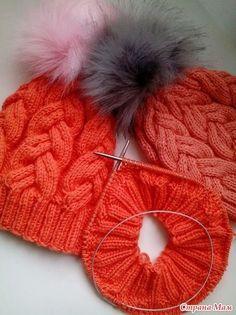 Всем доброго времени суток! Предлагаю описание вот такой шапки Шапка на превью связана из Alize baby wool в две нити.