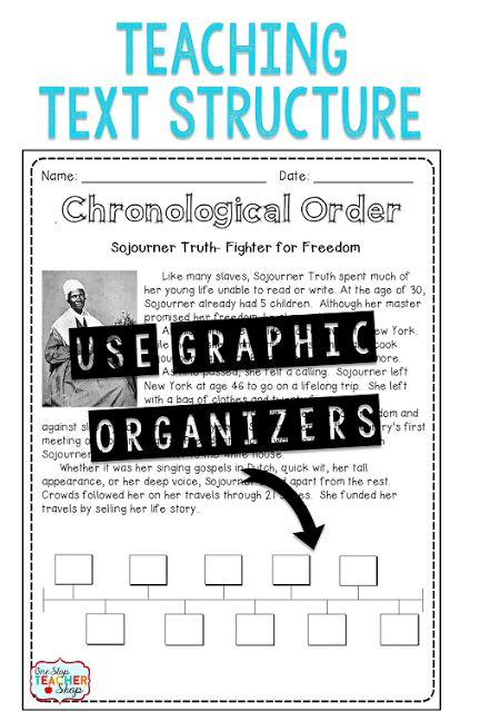 Use Graphic Organizers when teaching Non-fiction text structure! Check out these Tips for Teaching Text Structure with Non-Fiction! Lots of great ideas, plus a FREEBIE!