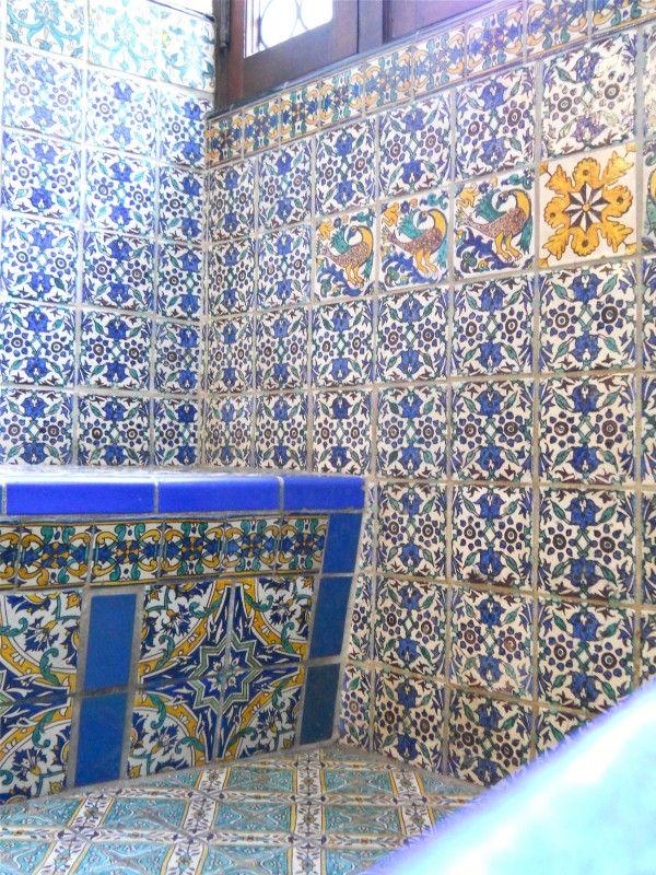 Tunisian tiles in Turkey