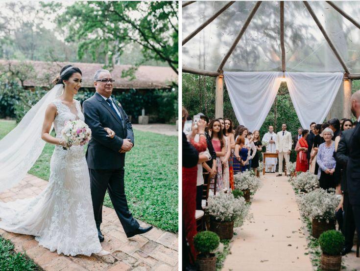 Casamento com arte, beleza e amor |  Luciana + Tiago