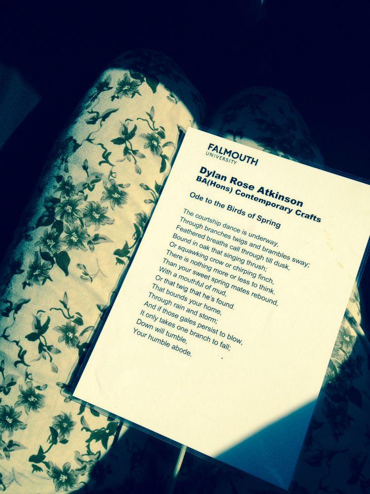 A poem by Dylan Rose