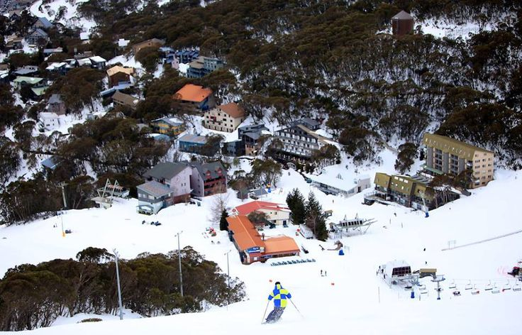 Snow Australia - Falls Creek alpine ski resort in Victoria, Australia #snowaus