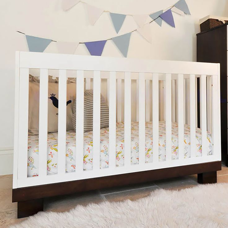 Babyletto Modo 3-in-1 Two-Tone Baby Crib