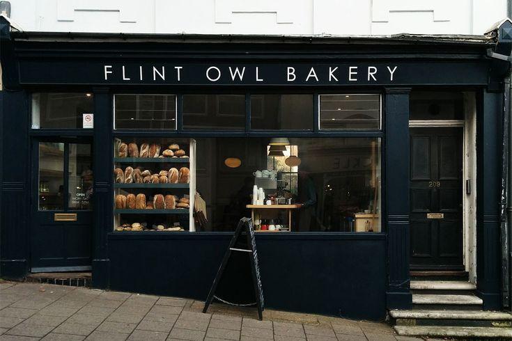 Flint Owl Bakery, Lewes, East Sussex.
