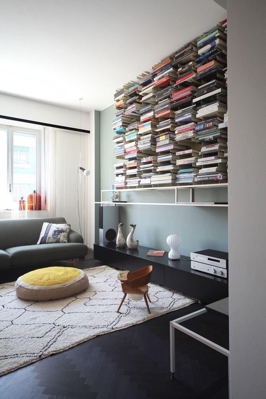 Fonction Et Fantasie | Marcante-Testa / UdA Architects + Carola Ripamonti #refurbishment #livingroom