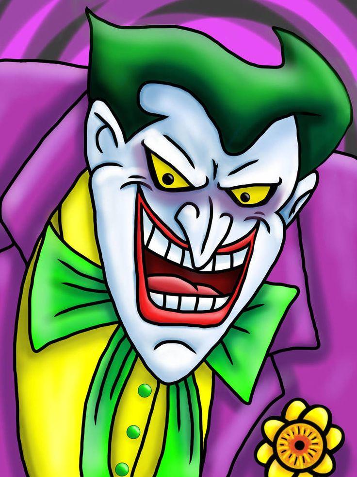 Джокер картинка мультик