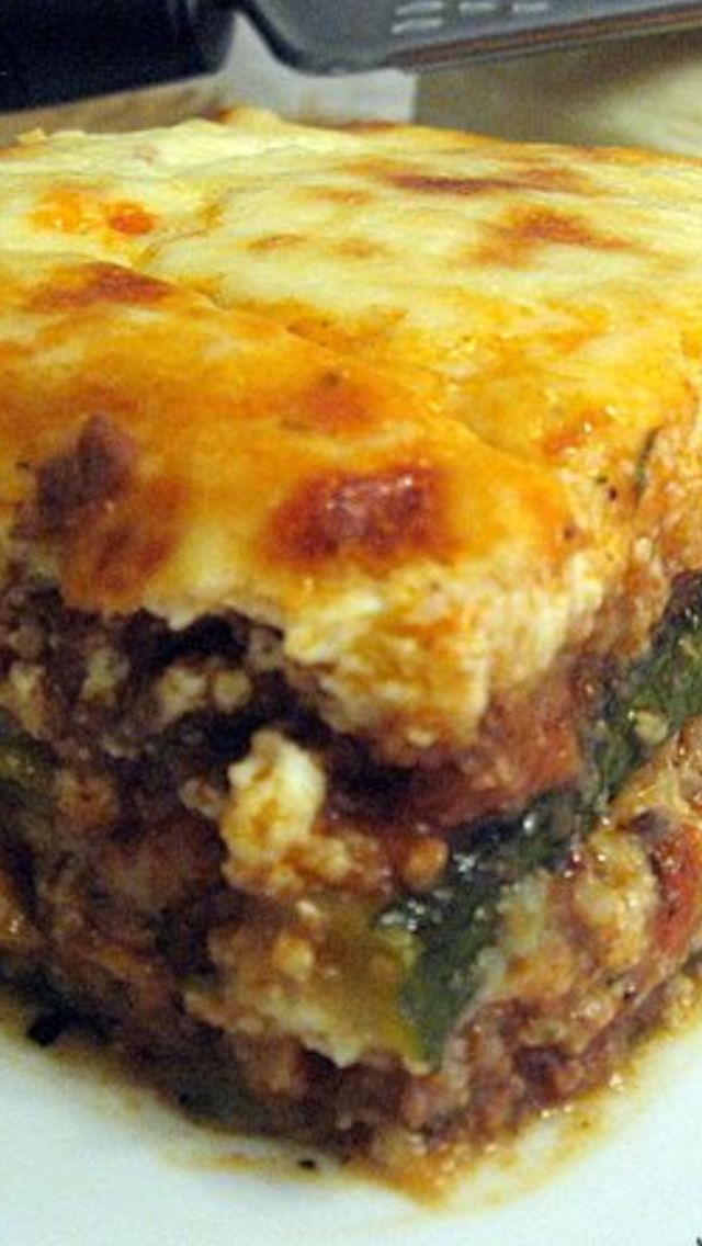 23 best greek dishes images on pinterest cook appetisers and drink m try the bchamel in this recipe next time moussaka with zucchini instead of eggplant my favorite dish to bad we dont have food like that in cc forumfinder Choice Image