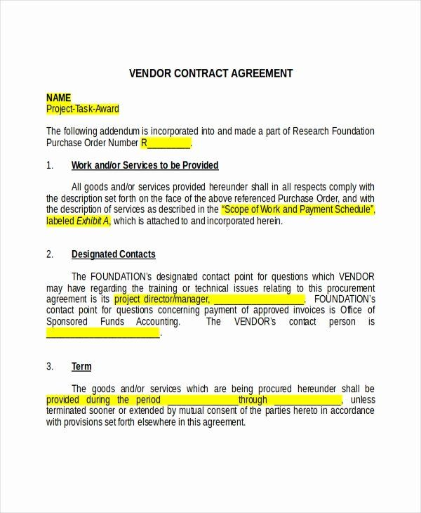 30 Food Truck Contract Template In 2020 Contract Template