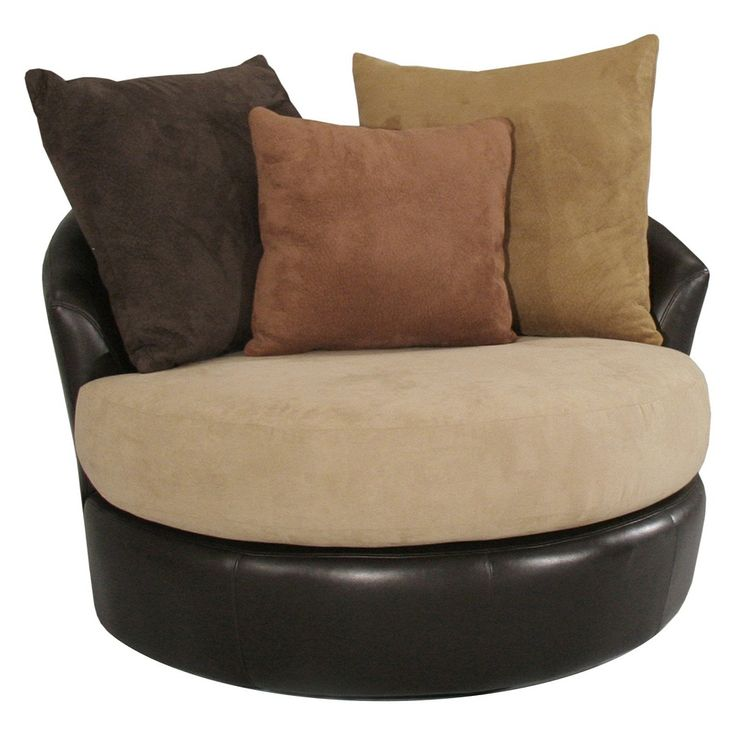 Image Of: Round Oversized Chaise Lounge Indoor